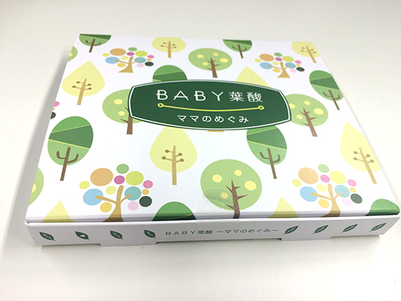 BABY葉酸の外箱