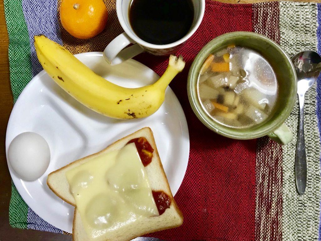 寒い朝も体をしっかりと温める朝食