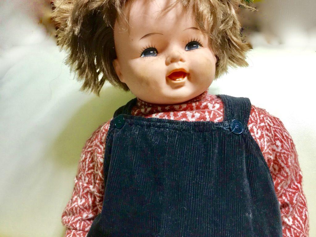 実物大2歳児人形